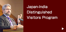 Japan-India Distinguished Visitors Program