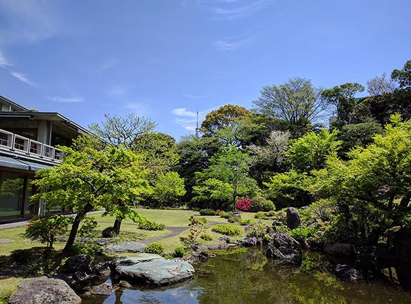 写真:庭園