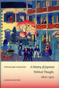 A History of Japanese Political Thought, 1600-1901