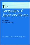 7. The languages of Japan and Korea