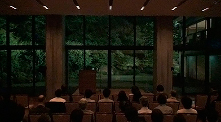 Photo: Lecture in Koyata Hall