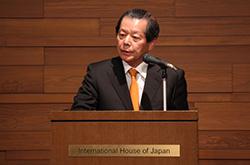 Photo: Dr Funabashi Yoichi